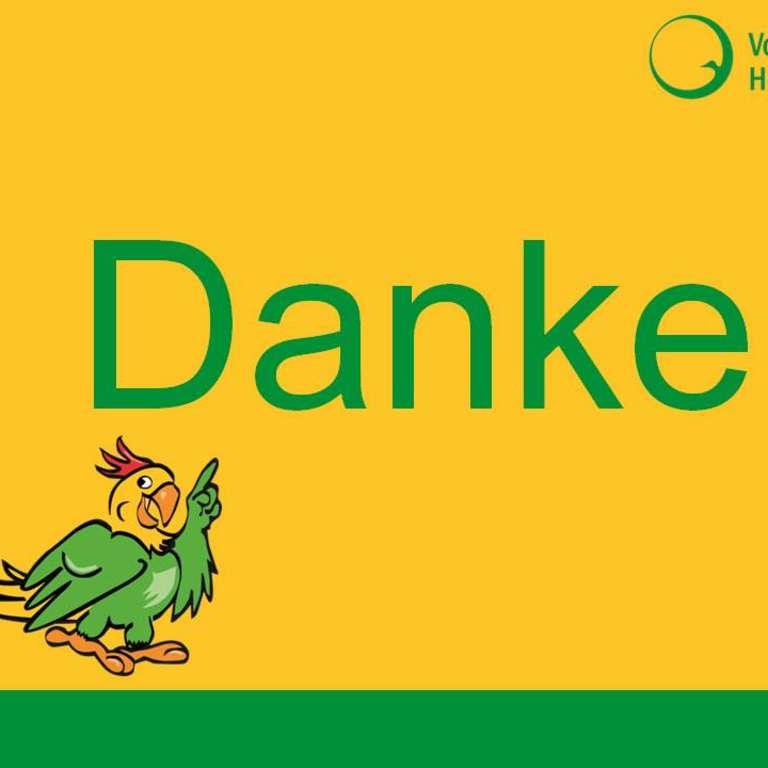 Saisonende im Vogelpark Heiligenkirchen - Wir sagen DANKE! - Das gesamte Vogelpark-Team sagt Danke für eine tolle Saison 2017!